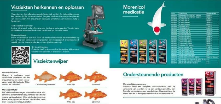 visziekten medicijnen