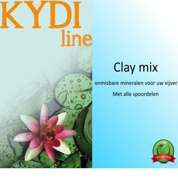 Water kwaliteit verbeteren met GH+, KH+ en Clay Mix van KYDI.