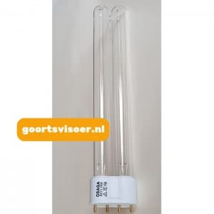 UV-C vervangingslamp 18W 2G11